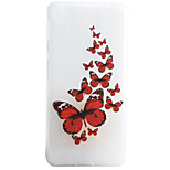 Butterfly Pattern Material TPU Phone Case For Sony Xperia E5 XA