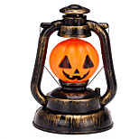 1pc interessante retro Hallowmas jul praktisk førte græskar lampe