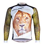 PALADIN® Hombres Mangas largas BicicletaTranspirable / Secado rápido / Resistente a los UV / Compresión / Materiales Ligeros / Bandas