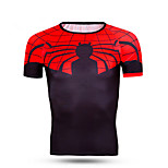 Sports Cycling Jersey Men's Short Sleeve Bike Thermal / Warm / Windproof / Dust Proof / Comfortable Tops LYCRA® Classic SummerExercise &