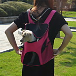 Cat / Dog Carrier & Travel Backpack Pet Carrier Portable / Breathable Black / Green / Blue / Pink / Yellow / Purple / Multicolor / Rose