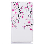 PU Leather Material Plum Flower Pattern Painting Pattern  Phone Cases for Sony Xperia X/XP/Z5/Z5 Mini