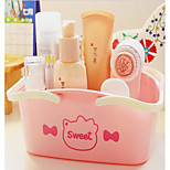 Pink T Hand Basket Cat Cosmetics Receive A Basket Of Fruit Basket Basket Bathroom Wash Receive Basket
