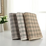 1 PC Full Cotton Bath Towel 29 by  55 inch Plaid Pattern