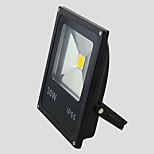 30w quente / frio branco cor IP65 ao ar livre levou holofote de ultra lâmpada LED preta fina (AC85-265V)