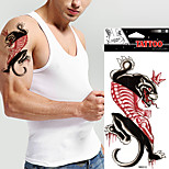 5 Pcs Waterproof Colour Leopard Temporary Tattoo Body Art  Tattoo Sticker