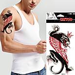 5 Pcs Waterproof Colour Leopard Temporary Tattoo Body Art  Tattoo Sticker