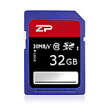 ZP 32GB Classe 10 SD/SDHC/SDXCMax Read Speed80 (MB/S)Max Write Speed20 (MB/S)