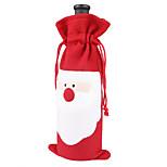 3PCS 2016 New Hot Santa Claus Christmas Gift Wine Bottle Gift Sets Decoration