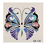 1 Tattoo Aufkleber Tier Serie butterfly Flash-Tattoo Temporary Tattoos
