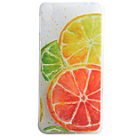 Lemon Pattern Material TPU Phone Case For Sony Xperia E5 XA