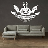 AYA DIY Wall Stickers Wall Decals Halloween Decoration  Happy Halloween Type PVC Panel Wall Stickers 55*73cm