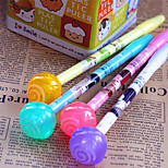Cute Candy Color Lollipop Luminous Pen(12PCS)