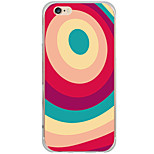 Pattern Cartoon Colorful Rings PC Hard Case Back Cover For Apple iPhone 6s Plus/6 Plus/iPhone 6s/6/iPhone SE/5s/5