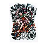 1pc Women Men Body Art Temporary Nezha the Legend of Deification Mythological Figure Style Design Tattoo Sticker HB-316