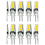 4W G4 Luces LED de Doble Pin T 6 SMD 5733 300-400 lm Blanco Cálido / Blanco Fresco Decorativa / Impermeable DC 12 V 10 piezas