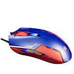 Gaming 3-Button USB Wired Mouse (Blue)