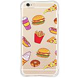 Rückseite Stoßfest / Transparent / Muster Karton TPU Weich Fall-Abdeckung für Apple iPhone 6s Plus/6 Plus / iPhone 6s/6 / iPhone SE/5s/5