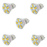 5pcs 7W MR11 15XSMD5730 Light Spotlight Bulbs (AC 12V)
