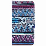 Para Funda iPhone 7 / Funda iPhone 6 / Funda iPhone 5 Cartera / Soporte de Coche / con Soporte Funda Cuerpo Entero Funda Líneas / Olas