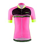 Sports Cycling Jersey Women's / Unisex Short Sleeve Bike Breathable / Quick Dry / Moisture Permeability / Back Pocket / Sweat-wicking