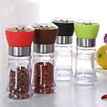 130mm Acrylic Manual Pepper Grinder Salt Spices Mill Shaker Transparent Grinding Tool Milling Cutter Machine