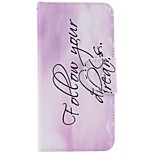 Para Funda iPhone 7 / Funda iPhone 6 / Funda iPhone 5 Cartera / Soporte de Coche / con Soporte Funda Cuerpo Entero Funda Palabra / Frase