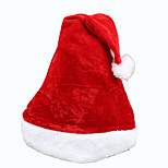 3PCS Classic Christmas Hat  Child Adult Christmas Decorations Holiday Party Supplies Santa Claus Accessories