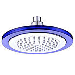 8 Inches LED Colorful Luminous Color Top Spray Shower (ABS electroplating)