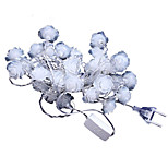 Flower shape LED Christmas lights Droplight string of Christmas lights Bar festival decoration lights
