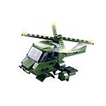 Byggeklosser for Gift Byggeklosser Modell- og byggeleke War Chariot / Helikopter Plast over 6 Grå Leketøy