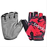 Men and Women Riding Cyling Gloves Breathable Slip Resistant Sunscreen Gloves Half Finger Movement Gloves 1 Pair