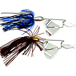 1 pcs Buzzbait & Spinnerbait Köder / Metallköder N/A 16g/pc g/5/8 Unze,Other mm/2-5/8