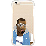 Para Funda iPhone 6 / Funda iPhone 6 Plus Antigolpes / Diseños Funda Cubierta Trasera Funda Dibujos Suave TPU AppleiPhone 6s Plus/6 Plus