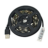 Jiawen USB 60-SMD5050 RGB 1M  Waterproof  LED Light Strip DC 5V