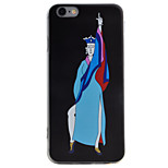 Monk Pattern High Permeability TPU Material Phone Case For iPhone 6s 6Plus SE 5S 5