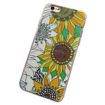 Per retro Satinato / Other Fiore decorativo PC Difficile Copertura di caso per Apple iPhone 6s Plus/6 Plus / iPhone 6s/6 / iPhone SE/5s/5