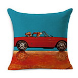Mong People Happy Cartoon Dog Open Car Pillow Cotton Car High Quality Cotton Pillow Cushions