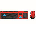 Keyboard Mouse Combo Wired Keyboard 2.4GHz Slim Suspended Wireless Keyboard and Wireless Mouse