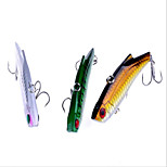 9cm 28g/PC New Fishing Gear Fishing Supplies Outdoor Long Shot Lure Bionic Bait VIB Lures 8pc/set