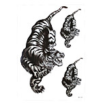 1pc Sexy Product Temporary Tattoo Sticker Cool Women Men Fierce Tiger Picture Design Waterproof Body Art Decal HB-334