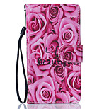 Roses Flower Pattern PU Leather Full Body Case with Stand for Huawei Y560 Y5 II Honor5C Honor8