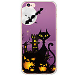 Halloween Pattern Cartoon Cat PC Hard Case For Apple iPhone 6s Plus 6 Plus iPhone 6s 6 iPhone SE 5s 5