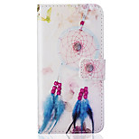 Card Holder Wallet Pattern Bell Dream Catcher PU Leather Hard Case For iPhone 7 7 Plus 6s 6 Plus SE 5s 5