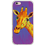 Per Custodia iPhone 6 Plus Fantasia/disegno Custodia Custodia posteriore Custodia Con animale Resistente PC AppleiPhone 6s Plus/6 Plus /