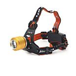 LED-Zaklampen LED 2 Mode 890 Lumens Verstelbare focus / Oplaadbaar Cree T6 18650 Kamperen/wandelen/grotten verkennen / Dagelijks gebruik-