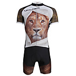 PALADIN® Cycling Jersey with Shorts Men's Short Sleeve BikeBreathable / Quick Dry / Ultraviolet Resistant / 3D Pad / Reflective Strips /