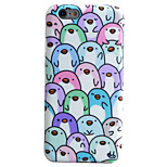 Penguin Pattern Phone Shell TPU Material IMD Technology For iPhone 6s 6 Plus SE 5S 5