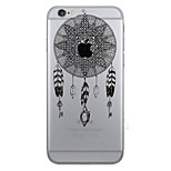 Dream Catcher Openwork Pattern of Strong Relief Printing Material TPU Phone Case for iPhone 7 7plus 6S 6plus