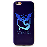 High-End Asuka Pattern Painted Matte TPU Material Phone Case For 6s 6Plus SE 5S 5
